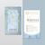 Monat Blue Business Cards, Custom Monat Blue Business Cards, Monat Blue Care