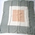 Vera Neumann Gray White And Peach 1970s Geometric Verasheer Scarf