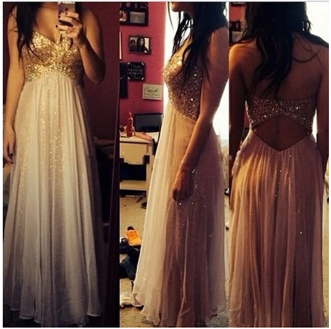 High Collar Two Pieces Prom Dresses ,Long Prom Dress ,Long Prom Gowns