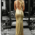 Mermaid V-Neck Backless Gold Sequins Long Prom Dresses With Train,prom