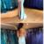 Mermaid Spaghetti Straps V-neck High Split Lace Up Prom Dresses,F1924