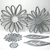 6pc Flower & Leaf Metal Cutting Die Set