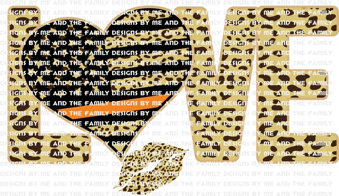 Love cheetah heart orange line, kiss, lips, represents Search and Rescue