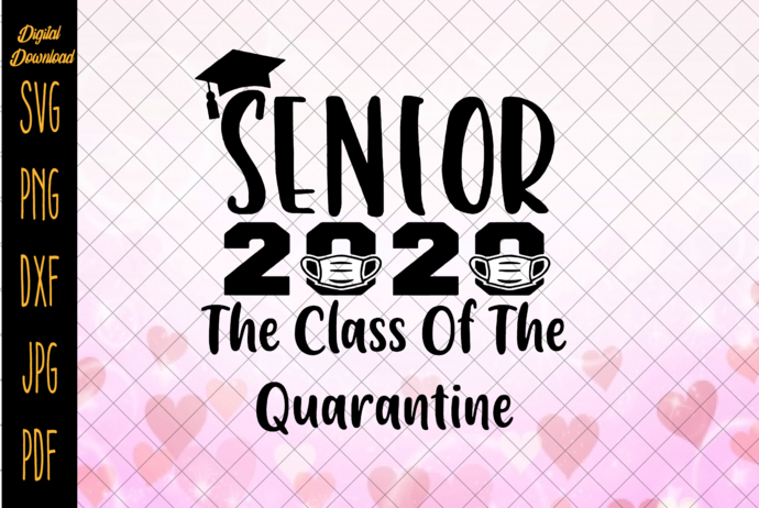 Seniors 2020 Getting Real Funny Toilet Paper Graduation Day Class of 2020 Design