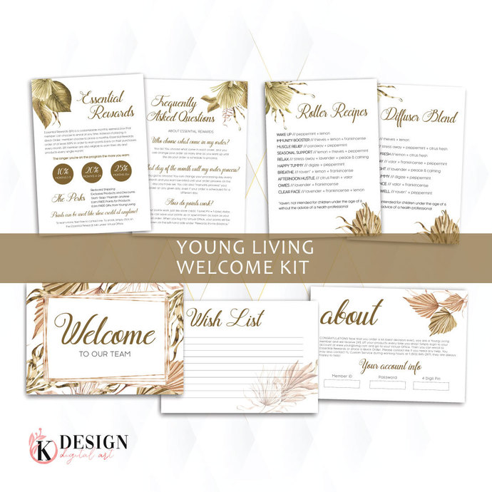 Tropical Young Living Member Welcome Kit , YL Starter Kit Welcome YL53