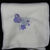Cream Fleece Baby Blanket With Embroidered Balloons– Free Shipping