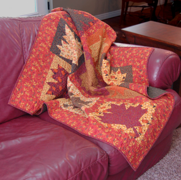 Falling Leaves Quilt