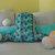 Mermaid Tail Pillow Blue Purple Green