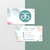 Arbonne Business Cards, Personalized Arbonne Business Card, Green Arbonne