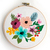 Set of 4 Floral bouquet counted cross stitch pattern - Cross Stitch Pattern