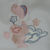 Cream Fleece Baby Blanket With Embroidered Duck And Balloons – Free Shipping