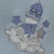 Blue Fleece Baby Blanket With Embroidered Lighthouse– Free Shipping