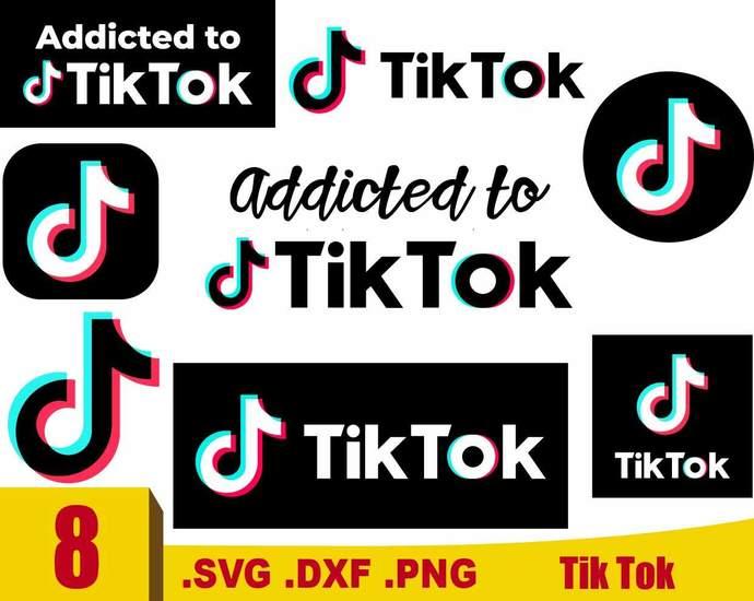 Tik Tok Svg Tik Tok Logo Svg Tik Tok Logo By Rhinodigital On Zibbet