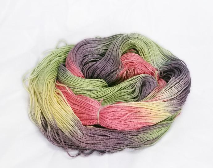 Cotton fingering yarn - Harbinger of Doom