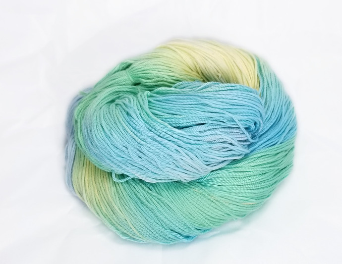 Cotton fingering yarn - Doug's Killer Blues