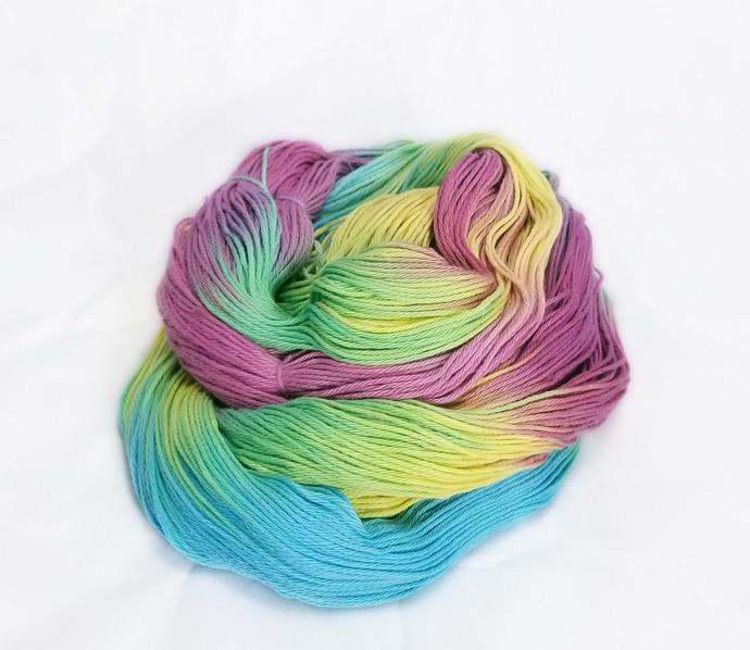 Cotton fingering yarn - Iris