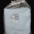 Blue Fleece Baby Blanket With Embroidered Baby Boy – Free Shipping