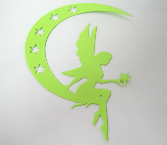 Fairy on Starry Moon Metal Cutting Die