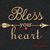Embroider Machine Design Bless your heart pes digital instant download patterns