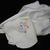 White Fleece Baby Blanket With Embroidered Flying Horse – Free Shipping