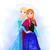 Frozen watercolor, Disney, Elsa print, Anna poster, home decor, nursery room,