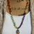 The Dreamer Hand Knot Beaded Necklace with Pendant by KnottedUp Jewelry gifts