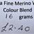 Extrafine Merino Wool For Felting - Random Dyed - 16 grams - Colour Blend 2 -