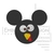 Turkey Mickey Mouse Thanksgiving disney Embroidery Machine Designs Instant