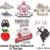Machine Embroidery Designs Love SET 10 items unicorn wedding marriage Pes File