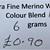Extrafine Merino Wool For Felting - Random Dyed - 6 grams - Colour Blend 10 -