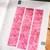 Pink Hydrangea Petals - 2cm wide foil washi tape 10m - original design, perfect