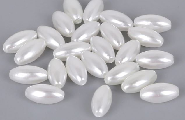 Bag of Large 6x12mm Rice Beads