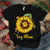 Dog mom, dog paw svg, dog paw, dog lover, gift for mom, sunflower, sunflower