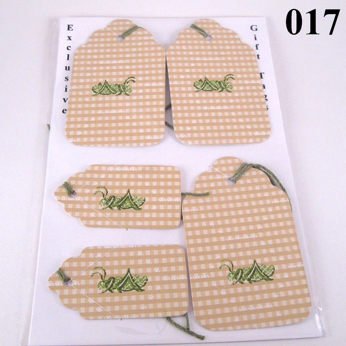 Grasshopper Gift Tag Set