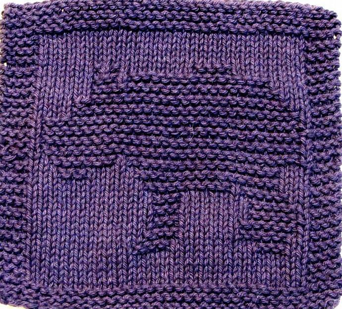 Knitting Cloth Pattern  - BABY HIPPO - PDF