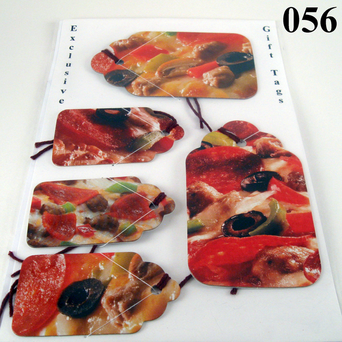 Pizza Gift Tag Set