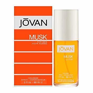 JOVAN MUSK FOR MEN POUR HOMME COLOGNE 88ML