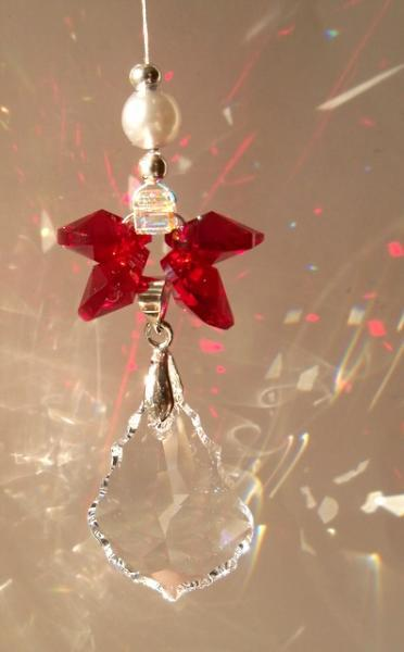 Sun Catcher - January Birthstone Angel