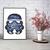 Wars cross stitch pattern cosmos starry night silhouette wall decor easy galaxy
