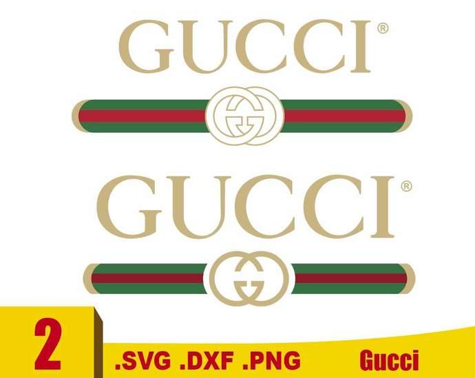 Gucci Svg Gucci Logo Svg Brand Logo Svg By Rhinodigital On Zibbet