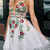 sleeveless backless mini evening dresses spaghetti-strap tulle applique flower