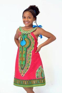 CHILDREN AFRICAN WEAR