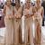 light beige sleeveless v-neck floor length evening dresses party dresses