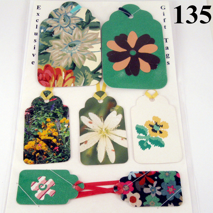 Charming Floral Variety Gift Tags
