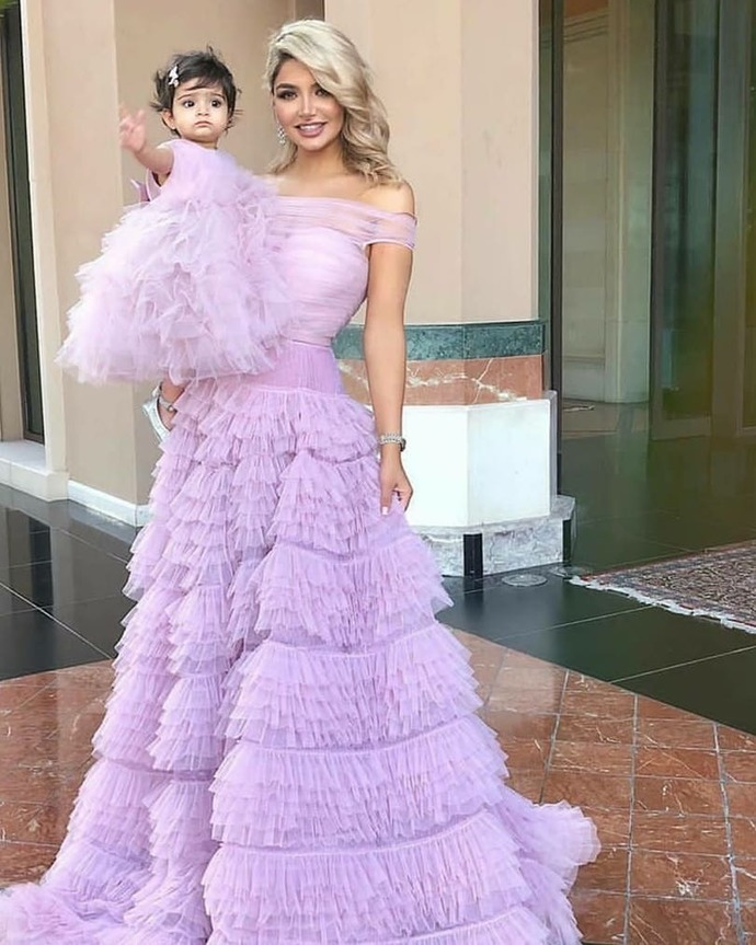 Custom Prom Dress,Tulle Prom Gown,Off  the Shoulder Evening Dress,A-Line Prom