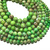 Natural Round Green Imperial Sediment Jasper Healing Gemstone Loose Beads for