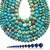 Natural Round Sky Blue Imperial Sediment Jasper Healing Gemstone Loose Beads