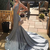 V-Neck Mermaid Elegant Prom Dresses,Long Prom Dresses,Cheap Prom Dresses,