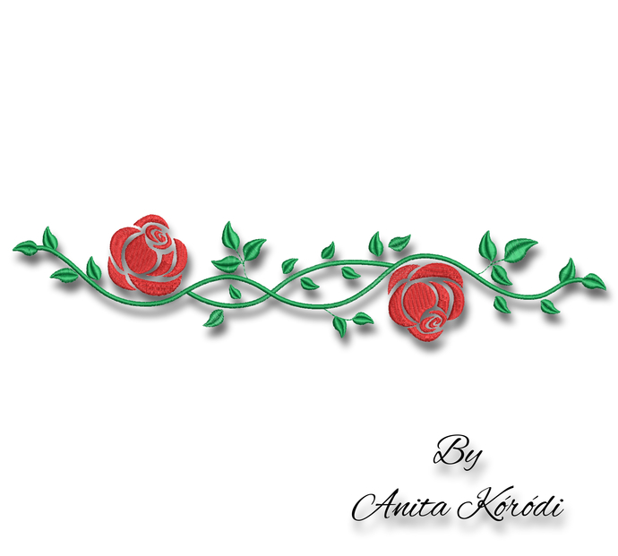 Rose Embroidery Design For Machine Flowers designs bloom digital instant