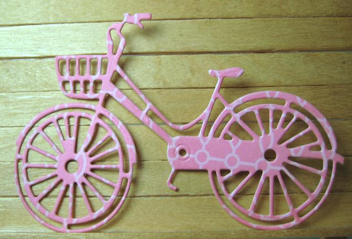 Bike Metal Cutting Die Style #2 Bicycle Die Cut